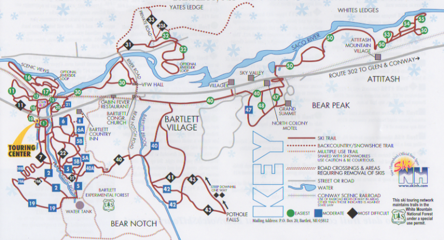 Trail Map - Bear Notch Ski Touring on new hampshire on a map, new hampshire scenic drives map, new hampshire canada map, new hampshire tourism map, new hampshire parks map, new hampshire speedway map, new england ski resorts, new hampshire golf map, new hampshire lakes map, gunstock ski area trail map, nh new hampshire mountains map, new mexico ski resorts, new hampshire vineyards map, new hampshire campgrounds map, new hampshire trail maps, new hampshire schools map, new hampshire fishing map, new hampshire town line map, new hampshire colonial era map, steamboat springs ski area map,